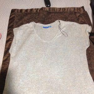 Apt. 9 oatmeal shirt XL